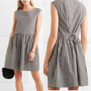 Madewell Gingham Cotton-Poplin Dress